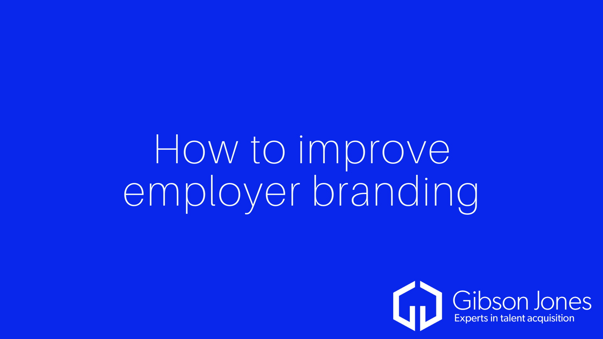 How to improve employer branding